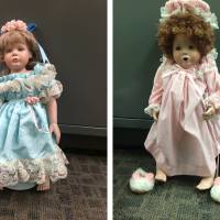 'Creepy' U.S. dolls were meant to spread cheer, not chill