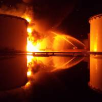Libya oil depot fire raises fears of major disaster