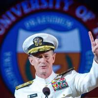 Texas university system picks admiral behind bin Laden mission as chancellor finalist