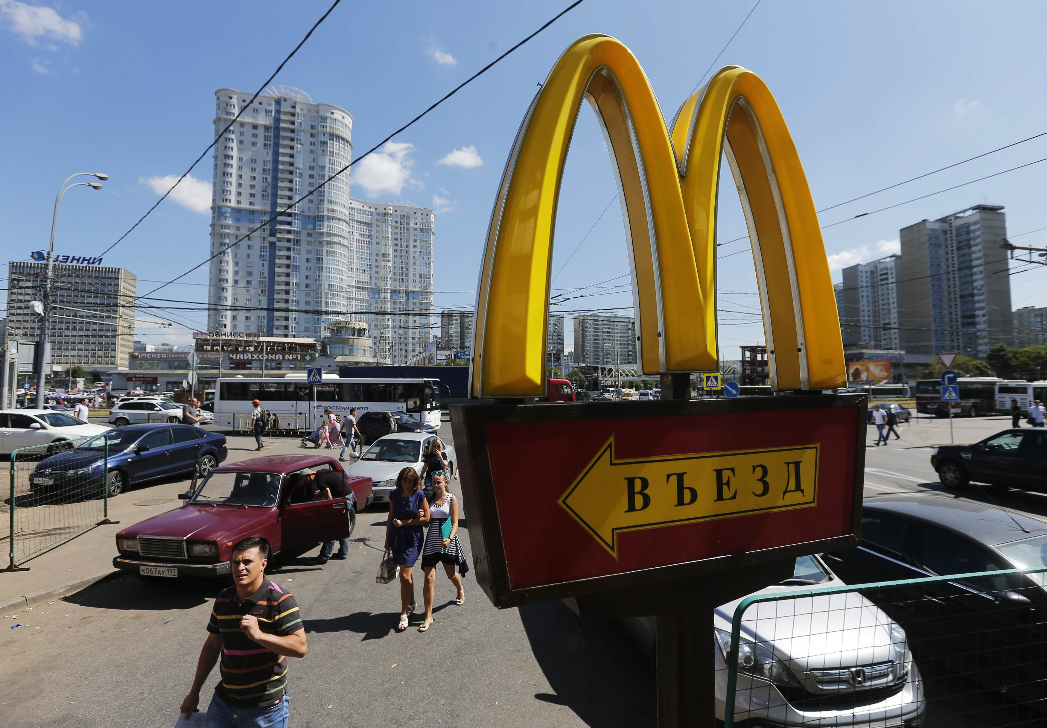mcdonalds in russia Mcdonald's restaurants operating in russia have announced plans to source all food supplies locally it is aimed at softening the impact of currency swings and import restrictions, tass quotes mcdonald's in russia president khamzat khasbulatov.