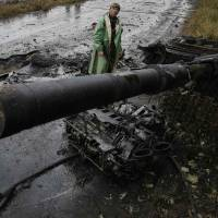 Downed bridges may slow Ukraine military push near rebel-held city