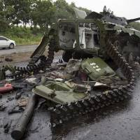 Putin silent on fighting in Slaviansk
