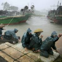 Super Typhoon Rammasun, strongest in 40 years, hits southern China