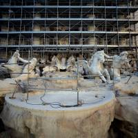 Rome's Trevi Fountain gets face-lift