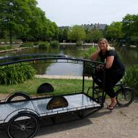 Dane builds tricycle for green funeral trips