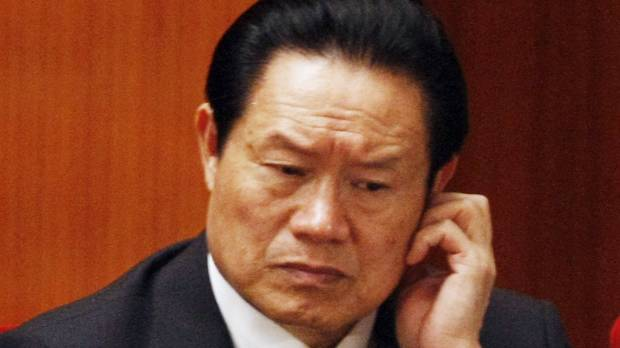 China ex-leaders OK'd Zhou probe