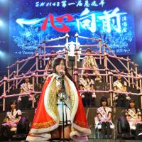 AKB48's Shanghai sister group holds first popularity poll