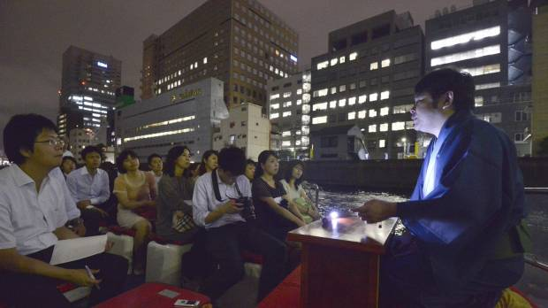 Hato Bus to beef up popular Tokyo ghost story tours