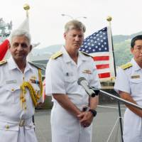 India naval drill with Japan, U.S. seen as signal to China