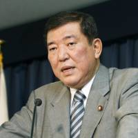 Abe eyes Ishiba for new Cabinet post on defense legislation
