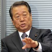 Ozawa desperate to keep up with party realignment