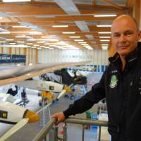 Swiss aviator prepares to fly solar plane around the globe