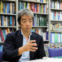 University of Tokyo professor Kenji Shibuya is interviewed recently by The Japan Times about the task of overseeing thyroid cancer screening in Fukushima Prefecture. | SATOKO KAWASAKI