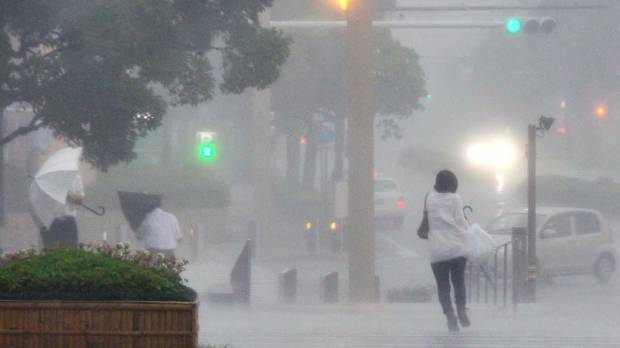 Typhoon Neoguri makes landfall on Kyushu