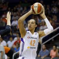 Griner blossoming in second WNBA season