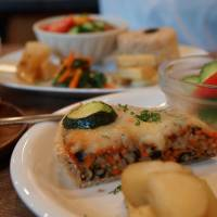 Natural flavor: The menu at Organic Cafe Polan no Hiroba is 100 percent vegetarian, with some vegan items too, and all made with quality ingredients. | ADAM MILLER