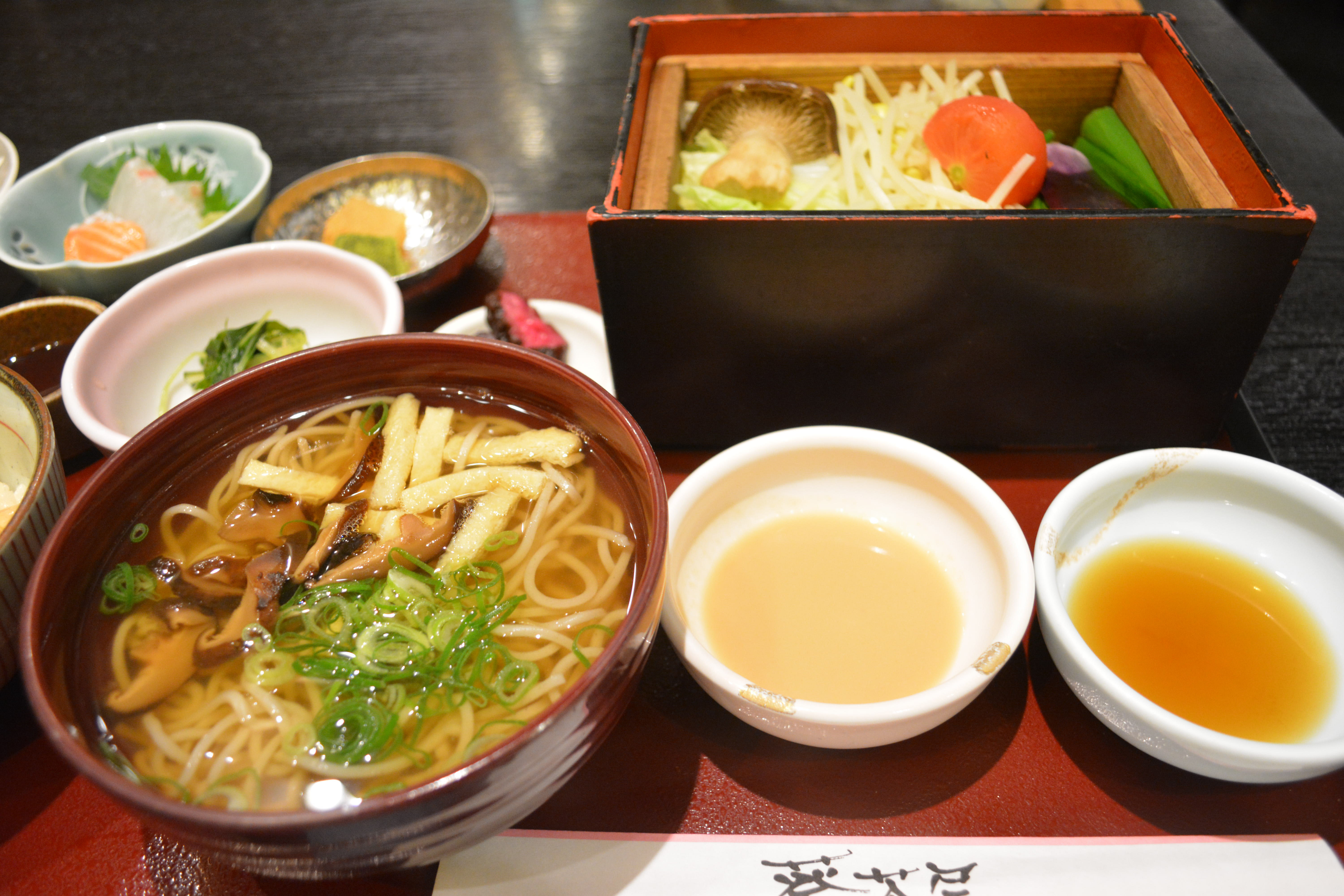 Aoi jaya traditional japanese cuisine without the for Ancient japanese cuisine
