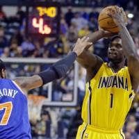 Huge loss: The Indiana Pacers have big shoes to fill with the recent departure of guard Lance Stephenson to the Charlotte Hornets via free agency. | AP