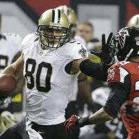 Money isn't tight: Jimmy Graham and the Saints have agreed to a new deal that will keep the Pro Bowl tight end in New Orleans. | AP