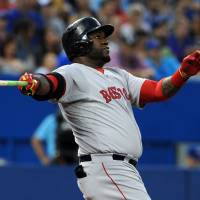 Ortiz blasts two HRs, moves past Yastrzemski on career list