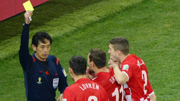 Nishimura doesn't dwell on World Cup controversy