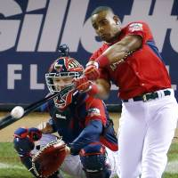 A's slugger Cespedes retains crown in Home Run Derby