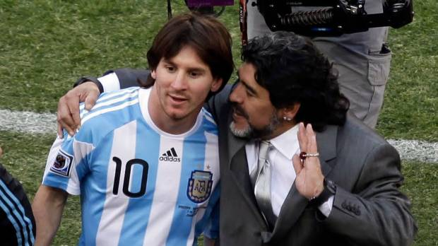 Maradona says Messi didn't deserve Golden Ball