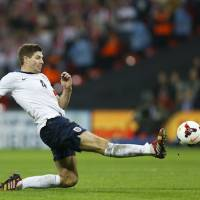 Gerrard retires from international play with little to show