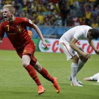 Belgium tops U.S. in thriller