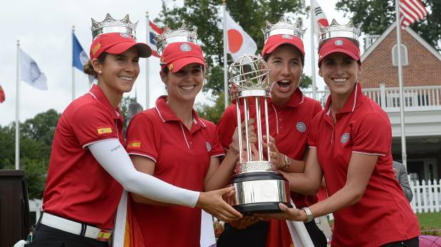 Spain claims International Crown
