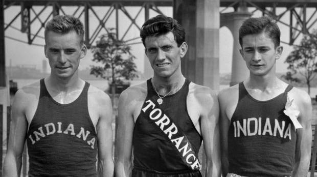 Zamperini, Olympic runner and World War II prisoner of war, dies at 97