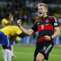 In stunner, Germany crushes Brazil 7-1 to reach World Cup final