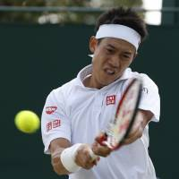 Nishikori downs Bolelli in five sets in delayed match