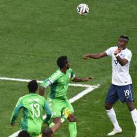 France fights off Nigeria, advances to quarterfinals