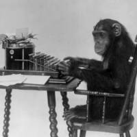 If chimps inherit their intelligence, does that prove humans do, too?