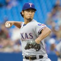Darvish ends Texas' slide
