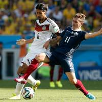 Germany ousts France
