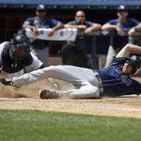 Rays prolong Yanks' slump