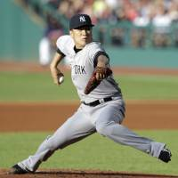 Troubling development: New York's Masahiro Tanaka, who is 12-4 this season, was placed on the disabled list Wednesday with soreness in his right elbow. | AP