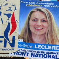 French far-right candidate sentenced to jail over 'monkey' slur