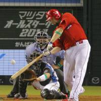 Carp standouts spark CL to lopsided victory in All-Star Series opener