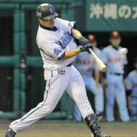 Goto goes deep as BayStars blank Giants