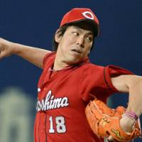 Maeda leads way as Carp snap four-game skid