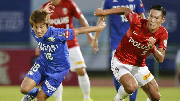 Urawa sets successive shutout record with win at Tokushima