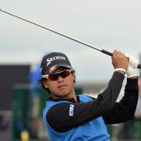 Title shot: Hideki Matsuyama is aiming to become the first Japanese major winner this week at the British Open after making his title breakthrough on the PGA Tour earlier this year. | AFP-JIJI