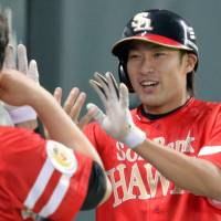 Hawks' rising star Yanagita gives credit to MLB legend Rodriguez