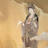 'Two Tapestries: The Miho Merciful Mother Kannon and The Lotus Miroku'
