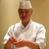 Owner-chef Hisayoshi Iwa learned his skills at Tokyo's highly respected Sushi Kanesaka and went solo in September 2012. | ROBBIE SWINNERTON