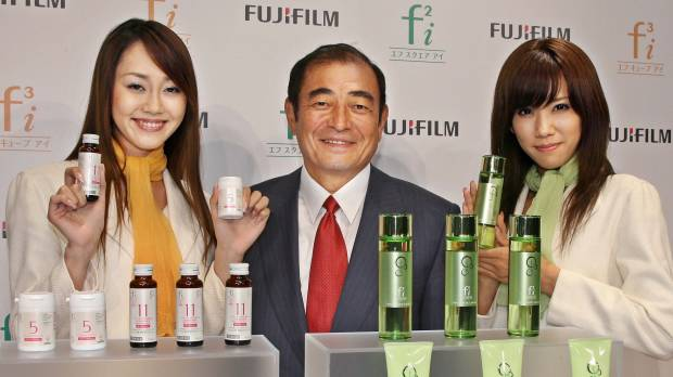 Fujifilm just one of several struggling manufacturers jumping into medicine