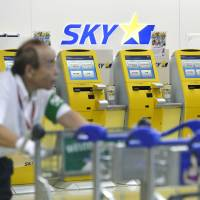 Struggling Skymark Air reportedly to withdraw from Narita airport